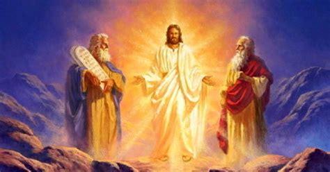 jesuss conversation  moses  elijah trevor eghagha