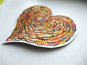 Hearts from waste material - Simple Craft Ideas