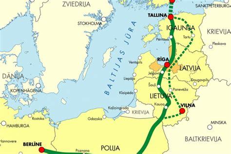 Forumā MIPIM Rail Baltica radītās perspektīvas prezentē Rīga, Tallina un Helsinki - Tirgus ...