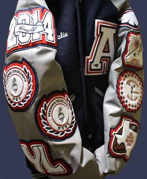 letter jacket patches allen high school tx lettermans jacket patch