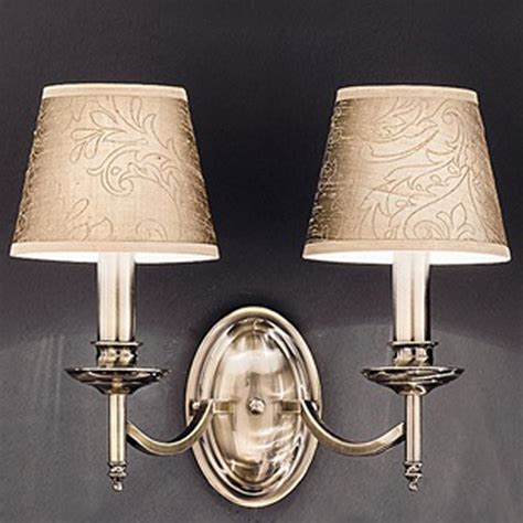 traditional double wall lights from easy lighting
