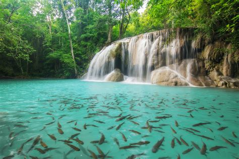 Erawan Waterfall Erawan National Park