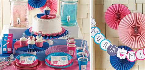 decoration baby shower fille ou gar 231 on pour bapt 234 me et baby shower sur vegaooparty