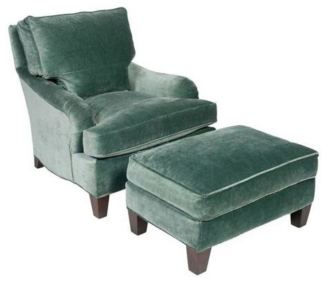 sold out teal velvet club chair and ottoman