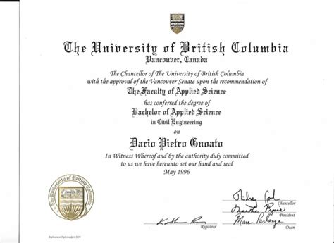 ubc bahelor  applied science diploma