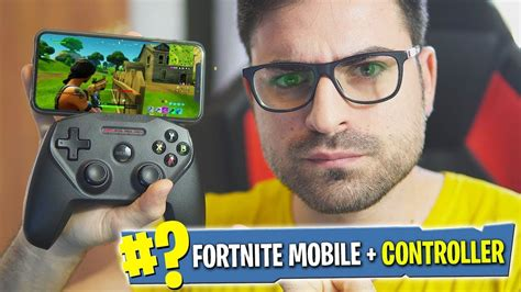 fortnite mobile  il controller su iphone
