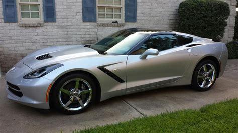 nine of corvette forum s top silver c7 photos corvetteforum