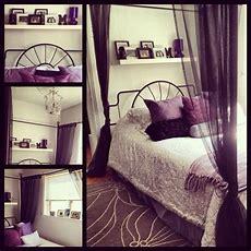 My Bedroom Purple Black Grey And White  My Stuff