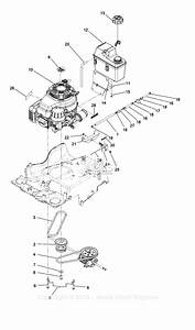 Exmark Ecs180cka30000 S  N 400 000 000 And Up Parts Diagram For Engine Assembly