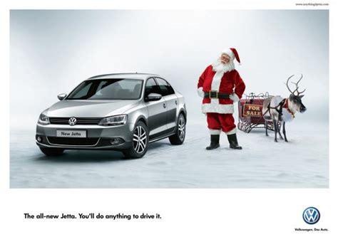 Volkswagen Jetta Quot Volkswagen Jetta Santa Quot Print Ad By