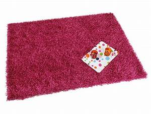 tapis shaggy rose clair maison design wibliacom With tapis shaggy avec canape convertible rose poudre