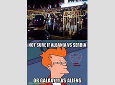 Serbia Vs Albania Troll Football