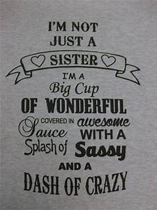 25+ best Big Si... Cute Sister Bday Quotes