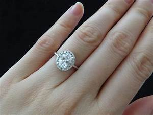 carat diamond ring on hand trends for carat diamond ring With what hand wedding ring