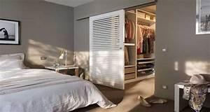 deco chambre 10 dressing futes dans la chambre parentale With amenager un dressing dans une chambre