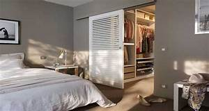 deco chambre 10 dressing futes dans la chambre parentale With chambre parentale avec dressing