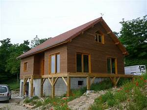 maison bois With creer plan de maison 11 exemples de menuiserie 2009