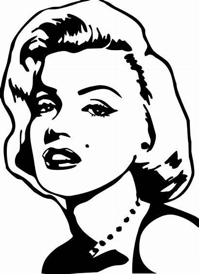 Marilyn Monroe Coloring Pages Easy Getdrawings Via