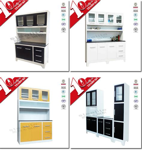 ready made stainless steel kitchen cabinets high gloss factory price stainless steel kitchen pantry 9194