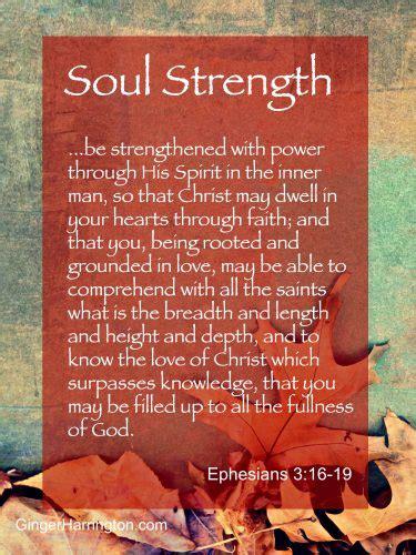 soul strength ginger harrington