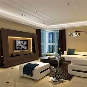 White Wall Units For Living Room Modern Living Room