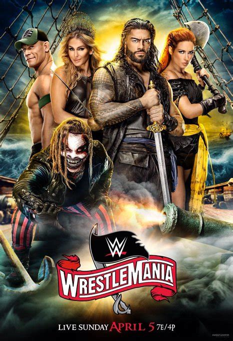 image  pirate becky lynch   official wrestlemania