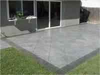 best existing concrete patio design ideas Best Stained Concrete Patio Design Ideas - Patio Design #305