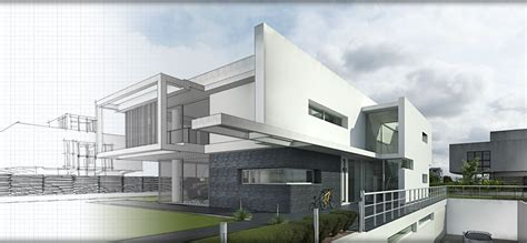 Modern Style Architectural Renders by Architectural Rendering Glass Search Drawings