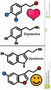 Dopamine And Serotonin Royalty Free Stock Photo - Image ...