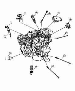 1999 Chrysler Sebring Sensor  Crankshaft Position  Sensors