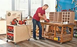 Sachen Selber Bauen : mobile werkbank selber bauen werkstatt pinterest werkstatt mobile werkbank und werkbank bauen ~ Markanthonyermac.com Haus und Dekorationen
