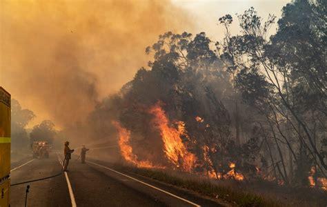australian bushfires center  disaster
