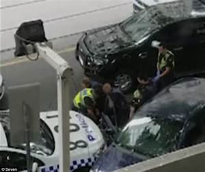 Man rams police vehicle in Melbourne