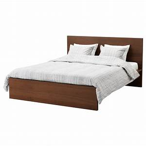 Lit Haut Ikea : malm cadre de lit haut teint brun plaqu fr ne lur y 140x200 cm ikea ~ Teatrodelosmanantiales.com Idées de Décoration
