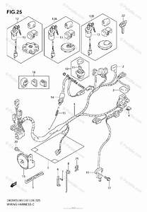 Suzuki Motorcycle 2006 Oem Parts Diagram For Wiring Harness