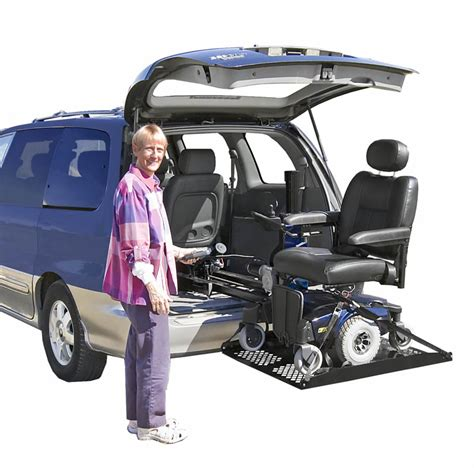 electric scooter lifts inside vehicle scooter lifts