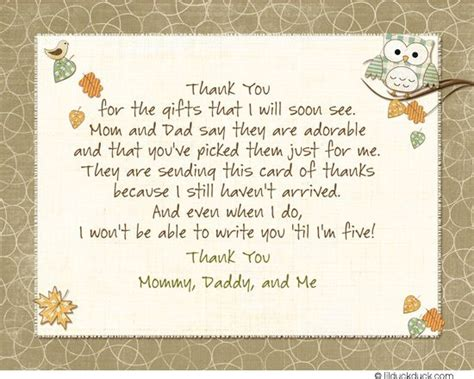 How To Write Thank You Cards For Baby Shower by Hoot Owls Thank You Card Handwriting Styles And Owl