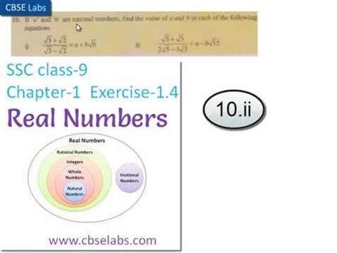 worksheets on real numbers for class 10th ap ssc class