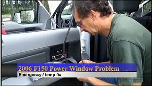 F150 Power Windows Emergency Roll-up