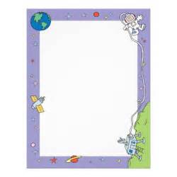Outer Space Border Template