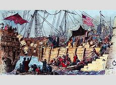 The Boston Tea Party Dec 16, 1773 HISTORYcom