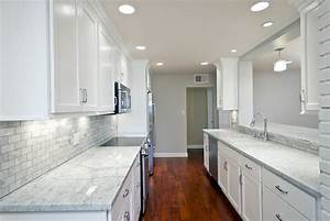 Great White Kitchen Cabinets With Granite Countertops