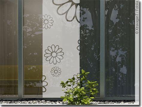 Fenster Sichtschutzfolie Blumen by Sichtschutz Glasbanner Sommer Blumen Fensterfolie