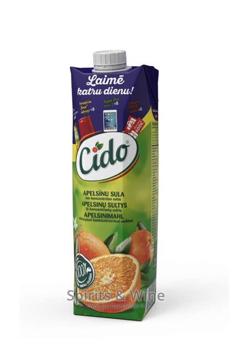 Cido Apelsīnu - Juice - Spirits & Wine