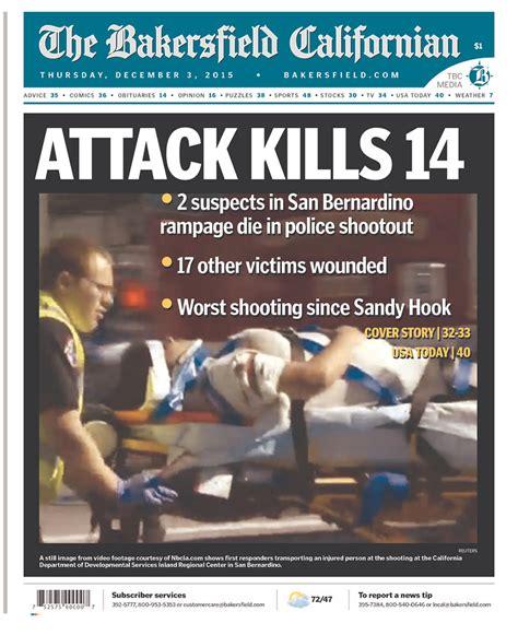 San Bernardino shooting: How US media covered the attack ...