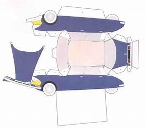 Papier Pour Vendre Voiture : maquette voiture en papier a imprimer ~ Gottalentnigeria.com Avis de Voitures