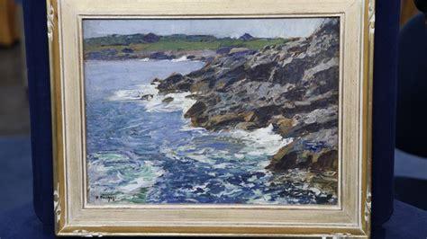 edward potthast oil painting ca  antiques roadshow