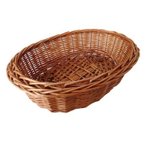 bread basket wicker oval wicker bread basket your spanish corner