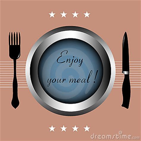 enjoy  meal stock photography image