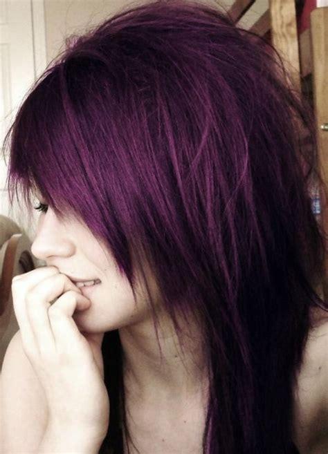 dark purple hair  tumblr